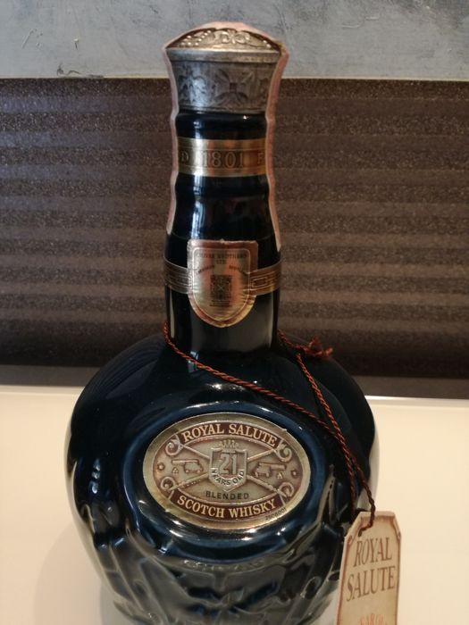Chivas Brothers  Royal Salute 21 years 1980s