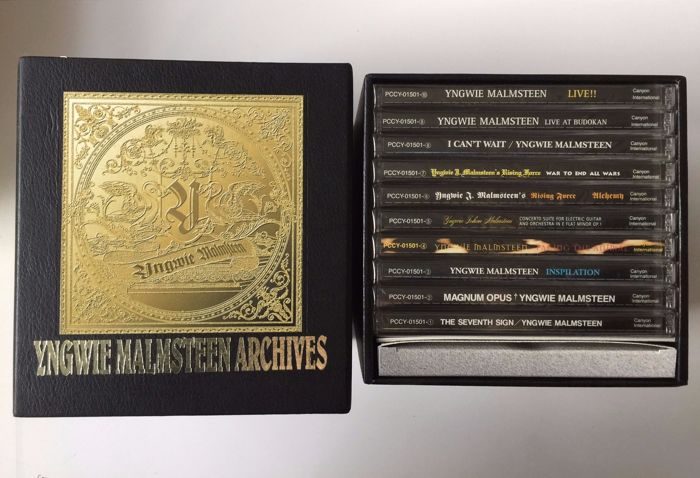 Yngwie Malmsteen Archives CD / DVD Box Set,