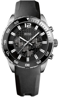 Hugo Boss - XL Black Herren Chronograph - 1512804  - Heren - 2011-heden