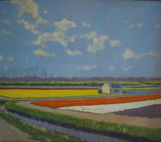 R in 't hout ( 20th century) - Bollenveld