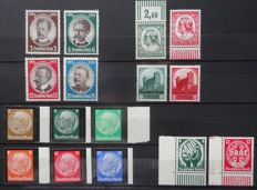 German Empire 1935 - Selection complete series - Michel 540/555