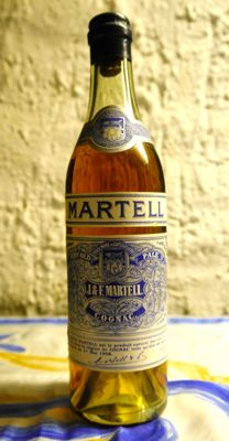 Old Cognac Martell from the 1940s - 1 bottle