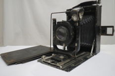 """Photocor №1"" with cassettes for photoplates. . (Early) 1930s.  GOMZ ( Leningrad)"