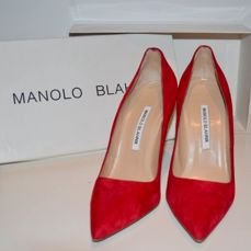 Manolo Blahnik - BB - Pumps in red