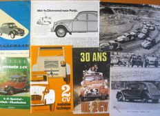 Citroën 2CV books, brochures and etc.