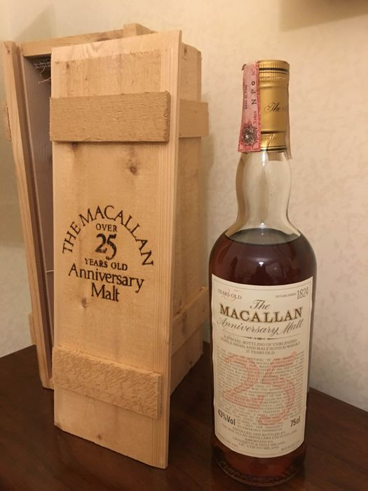 The Macallan 1965 Anniversary Malt - 25 years old - OB