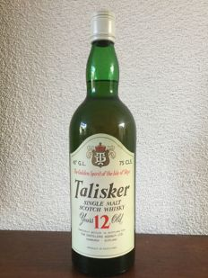 Talisker 12 years old - bottled late 1970s - OB