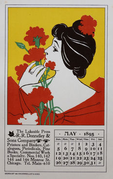 R.R. Donnelley & Sons – 1895 Calendar May – 1897