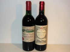 1986 Chateau Pavie Grand Cru Classé x 1 bottle - 1993 Chateau Gazin x 1 bottle / 2 bottles in total