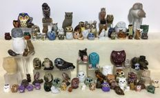 Collection of 99 owls