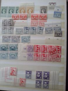 The Netherlands 1900/1960 - Batch in stock book