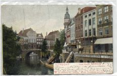 The city of Utrecht, 91x, mainly streets in the city of Utrecht - 1900/1955