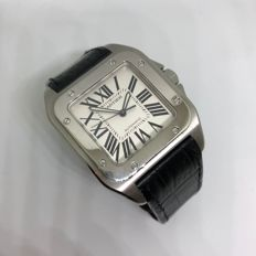 Cartier Santos 100 XL Ref. 2656 full set -  Men's watch - 2006