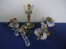 Swarovski - Tinkerbell - angel - Christmas bells - candy cane - pine cone