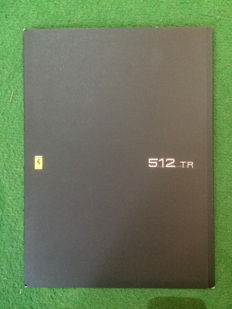 Presentation catalogue of the Ferrari 512 TR
