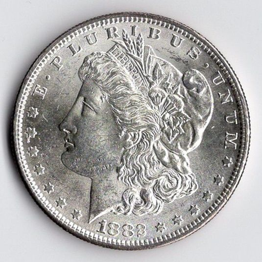 United States - Dollar (Morgan) 1882 (San Francisco) - silver