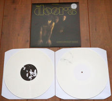 The Doors- Absolutely Rare 2lp/ Limited, hand-numbered special collectors edition of 111 copies worldwide on WHITE wax/ NEAR MINT!