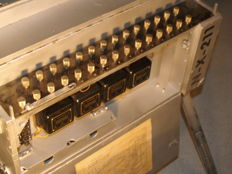 From museum depot: US Army Signal Corps field telephone (switchboard) WWII exchange BD72