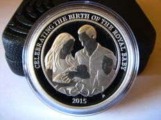 Australia - Dollar 2015 'Celebrating The Birth Princess Charlotte' - 1 oz silver