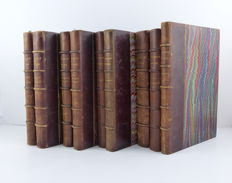 Théophile Gautier - Lot of 9 volumes - 1852 / 1865