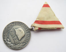 Hungarian/German Pro Deo Et Patria medal. WW1.