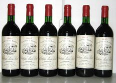 1983 Château Plain-Point -  Fronsac – Lot of 6 bottles