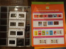 The Netherlands - Collection of the Child Relief stamps campaign with items for schools