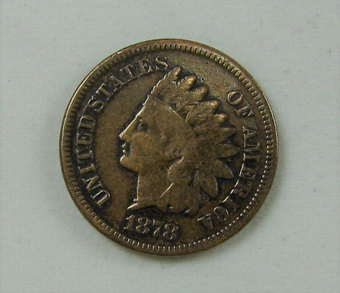 "United States - Cent 1878 ""Indian Head"" - bronze"