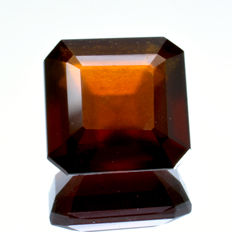 Hessonite Garnet (Cinnamon stone variety) - 6.79 ct - No Reserve Price