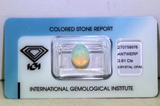 Crystal Opal - 3.61 ct