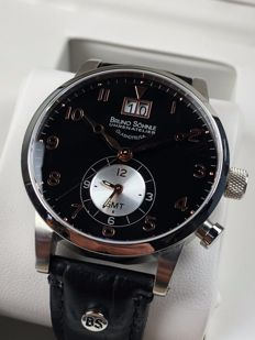 Bruno Söhnle (Glashütte) Milano GMT I-II Limited Edition ref: 17-13043-725 - men's watch