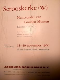 Auction catalogues for coins, Schulman, Rietdijk, AA coin auction, Coin Investment, Dutch Coin Auction and others.
