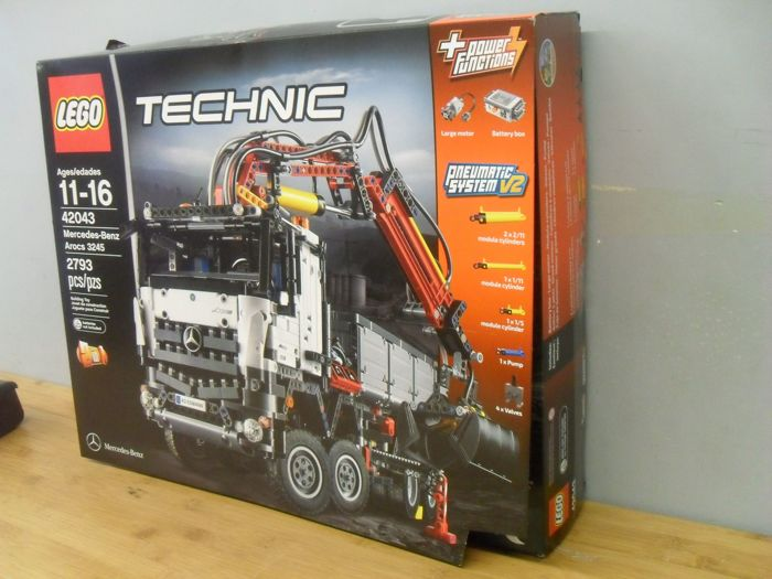 Technic - 42043 - Mercedes-Benz Arocs 3245