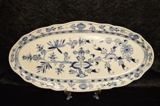 Meissen-Huge Blue Onion Pattern Tray (60 cm)