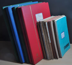 World - Batch from classic in books and stock books