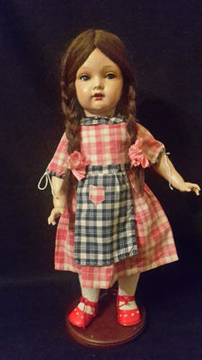 Celluloid doll (Miblu) Kämmer & Reinhardt 717 - Germany