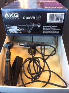 AKG C408/B and TBone BD 200 Kick Microphone
