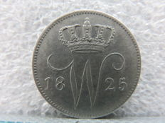 The Netherlands - 25 cents 1825 B Willem I - silver