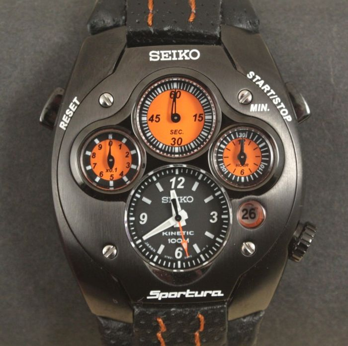 Seiko - Sportura Kinetic - Limited Edition - SLQ019J1 - Heren - 2000-2010
