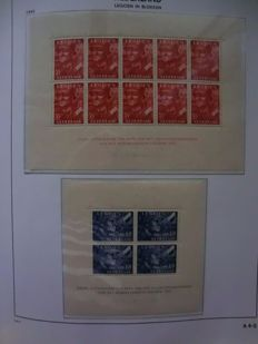 The Netherlands 1941/1992 - Collection in 2 Davo LX albums.