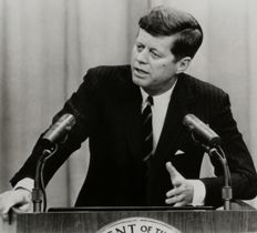 Unknown/UPI Telephoto/AP - John F Kennedy, 1963/1961