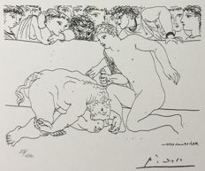 Pablo Picasso (after) - Suite Vollard, Planche LXXXIX