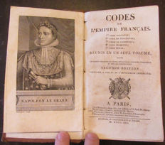 Napoleonic Empire; Les Codes de l'Empire Français - 1812