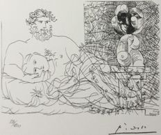 Pablo Picasso (after) - Suite Vollard , PLanche LX