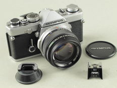 Olympus OM-1N MD with the large aperture Zuiko MC AUTO-S 1.4/50mm lens