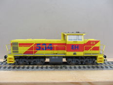 Trix H0 - 22573 - Diesel locomotive - MaK - Railroad and harbour