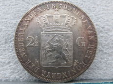 The Netherlands - 2½ guilders 1870 Willem III - silver