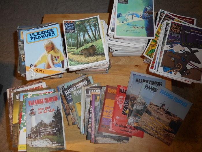 Magazines; Lot of 448 copies of Vlaamse Filmpjes - 1982/1996
