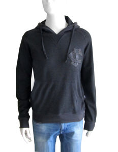 Roberto Cavalli - Hooded Sweater - Leather Crafted