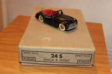 Dinky Toys-France - Scale 1/43 - Box of 6 x Simca 8 Sport No.24s